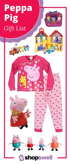 Meet Peppa Pig, the loveable, cheeky little piggy. If you have Peppa Pig in your house your going to want to shop this list of popular clothing, toys, gifts, and collectibles for your little one.
