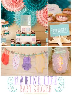 Marine Life Baby Shower - Project Nursery