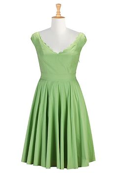 I <3 this Virginia dress from eShakti Pwetty design an color