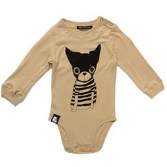 Mini and Maximus Sweet Woof Onesie // poppyscloset.com