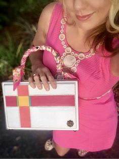The Pastel Mod Clutch