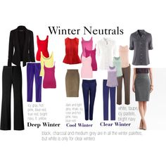 """Winter Neutrals"" by expressingyourtruth on Polyvore"