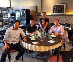 Almoço com os diretores Hashimoto (Thespa Kusatsu) e Ishii (Montedio Yamagata) ! #akisports #jleague #2016 by igor_akilopes