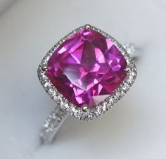 If this was a very light sapphire- it would be perfect!