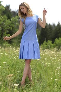 Blue Sade Dress | September Skies Collections