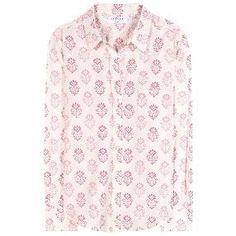 Neela printed cotton shirt.