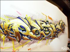 Super Drawing by RASKO by Dmitry Rasko, via Behance