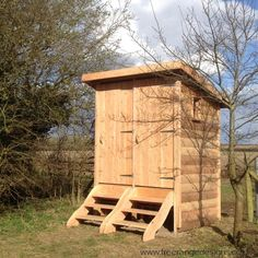 Twin Composting WC /Wooden Compost  in Home, Furniture & DIY, Bath, Toilets & Bidets | eBay
