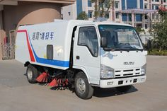 ISUZU NKR 3cbm-5cbm Isuzu Road Sweeping Vehicle