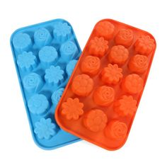 Candy Making Molds, 2PCS YYP [15 Cavity Flower Shape Mold] Silicone Candy Molds for Home Baking - Reusable Silicone DIY Baking Molds for Candy, Chocolate or More, Set of 2 >>> Discover this special product, click the image : home diy kitchen