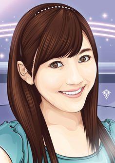 Mayu Watanabe é uma cantora e idol japonesa. É membro da girl group AKB48