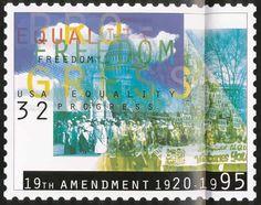 April Greiman - 19th Amendment Stamp