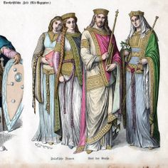 10th century costume | ... Costume - Charles the Great - Charlemagne (5th Century - Vth Century