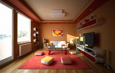 Colorful-and-Modern-Flair-Living-Rooms-Design-Ideas