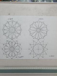 Islamic Art, Geometric Drawing, Drawings