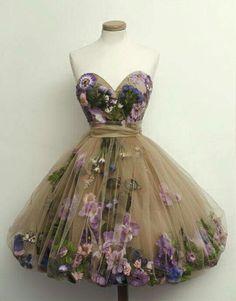 Floral fairy dress