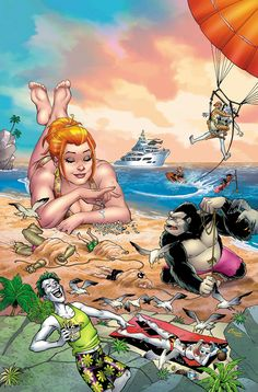 DC to Celebrate Summer with 80-Page Beach Blanket Bad Guys Special This July