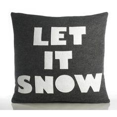 Alexandra Ferguson Let It Snow Decorative Pillow | AllModern