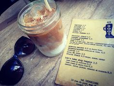 Iced Latte from Boot Cafe in Paris | www.frenchblissme.com