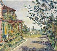 Sommer i haven by Einar Sandberg
