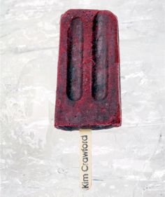 Boozy Popsicle Recipe:  Pinot Noir-Infused Blackberry Ice Pops   The 10-Minute Happy Hour