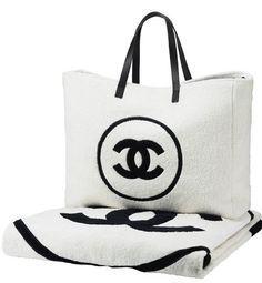 78ba6aa221a418 Chanel by catrulz Chanel Beach Bag, Chanel Tote, Best Handbags, Chanel  Handbags,