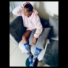@mazulurealsoulsa looking absolutely stunning 🔥💯. Please visit our website www.smccollection.com or DM to place your order. Absolutely Stunning, African, Socks, Website, Pants, Instagram, Fashion, Trouser Pants, Moda