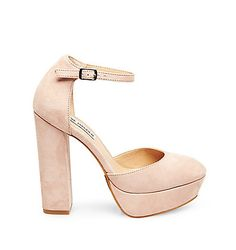 Find heels for everyday and special occasions at Steve Madden. Add an inch of glamour and confidence to every step with our high heels and dressy heels. High Heels, Shoes Heels, Chunky Heels, Block Heels, Heeled Mules, Steve Madden, Going Out, Cute Outfits, Feminine