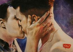 Beautiful art work #Gallavich