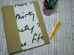 Copri quaderno in stoffa | #handmadebacktoschool2016 #thecreativefactory | Hobby e Creatività