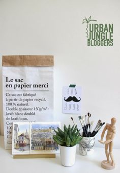 One plant - three stylings. Via Un Due Tre Ilaria.