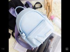 Cute blue mini bag