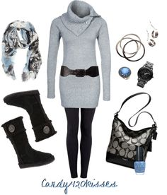 """a little bit of blue"" by candy420kisses ❤ liked on Polyvore"