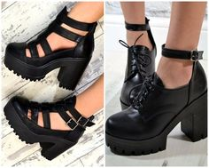 When new shoes are needed, you'll need advice on the best way to find them. Clogs Shoes, Sock Shoes, Cute Shoes, Me Too Shoes, Shoe Boots, Shoes Heels, Everyday Shoes, Beautiful Shoes, Chunky Heels