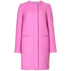 'Barbie girl' ❤ liked on Polyvore featuring coats