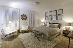 Projeto da designer de interiores Marie Burgos, em NY.