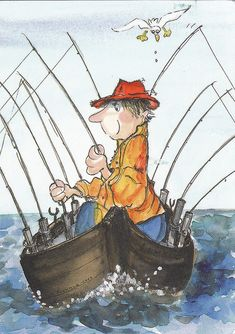 HAHA! @Shaylah Ney I would do this on a very bad day of fishing. I would have a better chance of catching something! :)