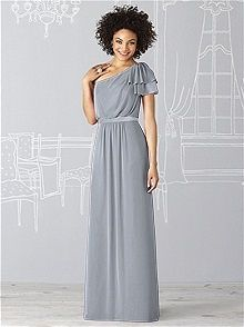 After Six Style 6622 #gray #bridesmaid #dress