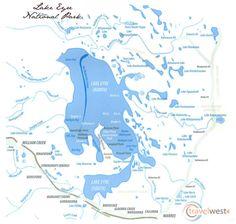 Lake Eyre Map