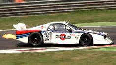 Lancia Beta Monte Carlo Group 5 race car