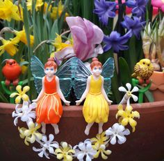 My Fairy Garden twins Hope & Joy are celebrating the arrival of Spring!