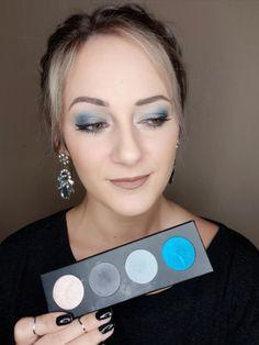 Blue Eyeshadow Makeup