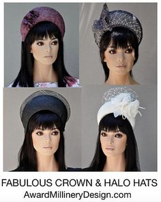 The New Trend in Millinery. Duchess of Cambridge Collection