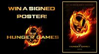 Michigan residents - win a signed poster or a prize pack from The Hunger Games from Celebration Cinema!