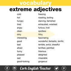 Extreme Adjectives!