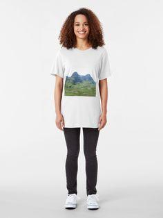 'Glencoe, Scotland' T-Shirt by David Rankin Music Is Life, Tshirt Colors, Female Models, Chiffon Tops, Heather Grey, Classic T Shirts, Shirt Designs, T Shirts For Women, Glencoe Scotland