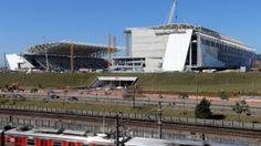 A espetacular Arena Corinthians está com mais de 85% concluída