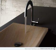 15 Fantastic Modern Faucet Designs - Fox Home Design Contemporary Kitchen Faucets, Black Kitchen Faucets, Bathroom Faucets, Bathrooms, Sinks, Faucet Kitchen, Home Design, Modern Design, Modern Contemporary
