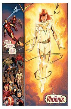 hope summers a Phoenix Heros Comics, Marvel Comics Art, Comic Book Heroes, Marvel Dc Comics, Marvel Avengers, Cosmic Comics, Comic Books, Marvel Women, Marvel Girls