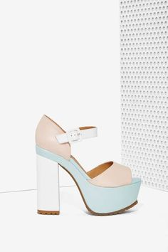 Nasty Gal Sorbet Leather Platform | Shop Shoes at Nasty Gal!